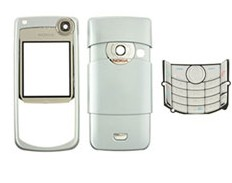 housing faceplate cover nokia 6680 blue
