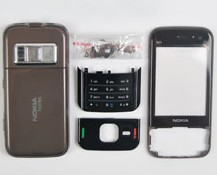 housing faceplate cover nokia n85 brown