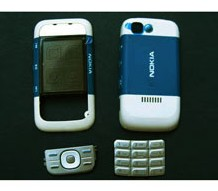 faceplate cover nokia 5300 dark blue