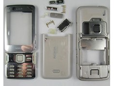 faceplate cover nokia n82 grey