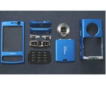 faceplate cover nokia n95 8gb blue