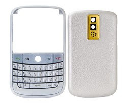 housing cover keypad pearl gold blackberry bold 9000