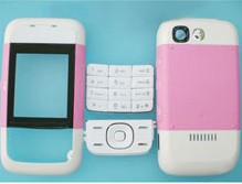 housing faceplate cover nokia 5200 pink