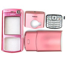 housing faceplate cover nokia n70 pink