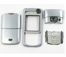 housing faceplate cover nokia 6680 silver