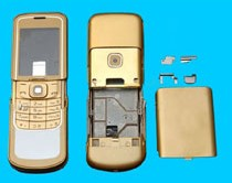 housing faceplate cover nokia 8600 luna golden