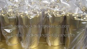 jinquan golden spring rock drilling tools co button bit drill rod shank adapter coupling