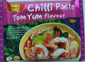 chilli paste tom yum flavor instant noodle export pack