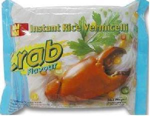 instant rice vermicelli crab flavor