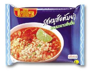 minced pork tom yum flavor instant noodle