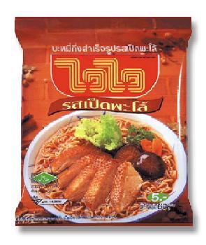 pa lo duck flavor instant noodle