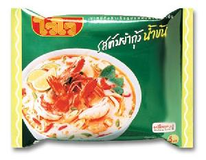 tom yum shrimp cream soup flavor instant noodle
