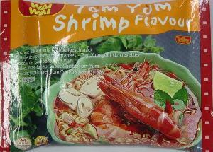 tom yum shrimp flavor instant noodle export pack