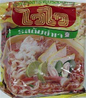 vegetarian tom yum flavor instant noodle