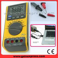 digital multifunction multimeter plus software usb cable