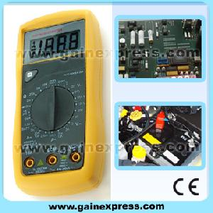 digital multimeter battery test ac dc voltage meter