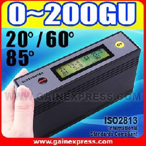 glossmeter gloss meter 20 60 85 degree calibration