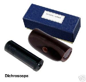 calcite dichroscope gem gemstones