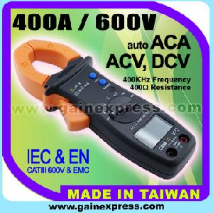 power clamp meter 400a ac multimeter volt ohm