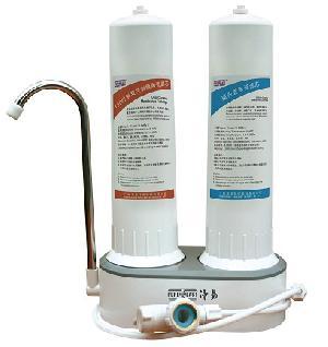 countertop water filter 2 cartridge