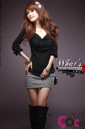 butterfly sweetheart neckline ladies tops