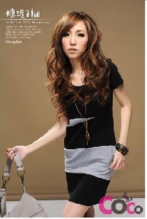 twill pocket korean cotton colors tunic