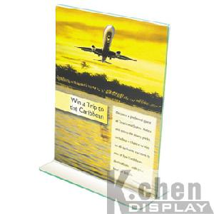 acrylic leaflet holder