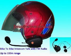 bike intercom talk fm radio