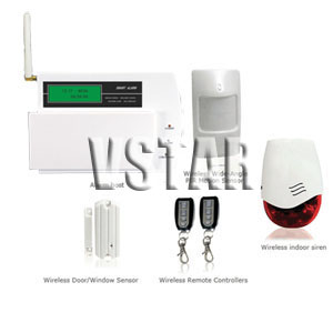 gsm wirefree alarm system auto dialer