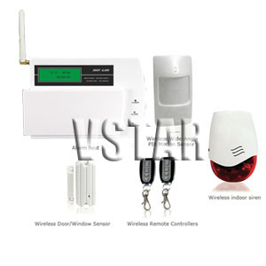 home security alarm systems text message