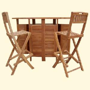 teak outdoor sweden bar folding chair extendable table garden furniture