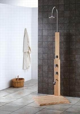 teak sweden outdoor shower wooden kiln dry solid elegance java indonesia