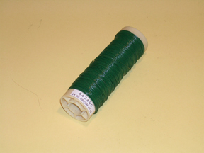 pvc coated plant training wire green