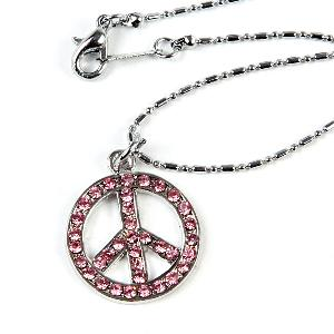 wholesale peace metal pendants