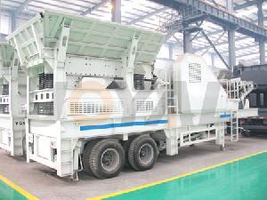 portable crushing plant mobile crusher shanghai joyal