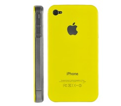 hard case cover transparent side iphone 4 ipohne