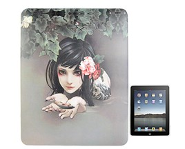 illustration hard plastic case cover ipad beauty fish