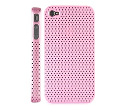 plastic case cover iphone 4 pink