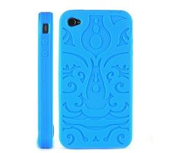 soft pattern silicone skin case iphone 4