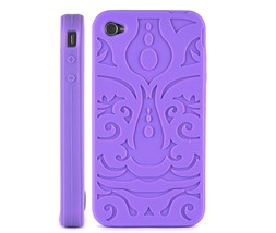 soft pattern silicone skin case iphone 4 colour
