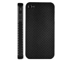 ventilated hard plastic case cover iphone 4