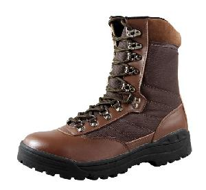 brown military gears steel toe boots combat tacticle wcb018