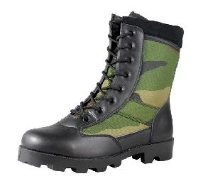 military gears jungle comouflage tacticle boots wjb002
