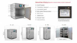 eo sterilizers multiload industrial models versions touch screen dixell