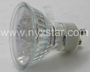 gu10 led bulb lampen 55 75lm power consumption aluminious