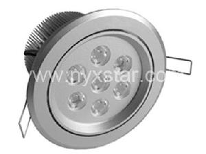 manufacturer 7w power led downlight lighting home office shopping