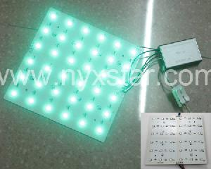 nyxstar led backlight groud light rgb panel lighting lights