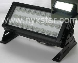 nyxstar led floodlight lite leisten 27pcs 1w power leds