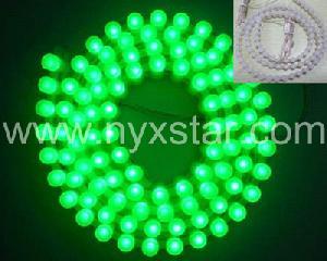 nyxstar led leisten silica gel strips 36pcs meter car lighting
