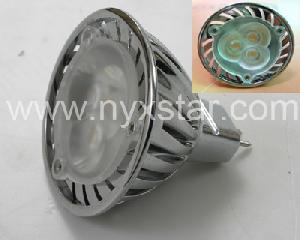 nyxstar led spot lampen lite mr16 spotlights 3pcs power leds